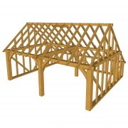 2-bay-garage-gable-end-catslide-a